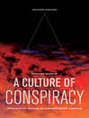A Culture of Conspiracy (eBook): Apocalyptic Visions in Contemporary America