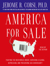 America for Sale (MP3): Fighting the New World Order, Surviving a Global Depression, and Preserving USA Sovereignty