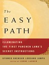The Easy Path (eBook): Illuminating the First Panchen Lama's Secret Instructions