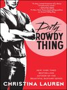Dirty Rowdy Thing (eBook): Wild Seasons Series, Book 2