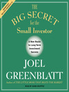 The Big Secret for the Small Investor (MP3): The Shortest Route to Long-Term Investment Success