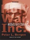 Holy War, Inc. (MP3): Inside the Secret World of Osama Bin Laden