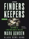 Finders Keepers (MP3): The Story of a Man who found $1 Million
