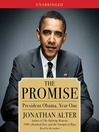 The Promise (MP3): President Obama, Year One