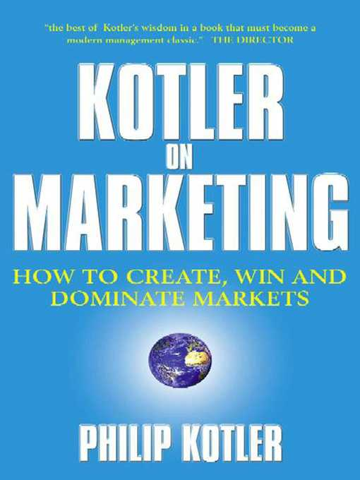 Kotler on Marketing (eBook)