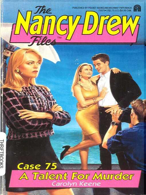 A Talent for Murder (eBook): Nancy Drew Files Series, Book 75