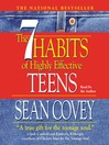 The 7 Habits of Highly Effective Teens (MP3)