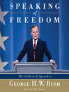 Speaking of Freedom (MP3): The Collected Speeches