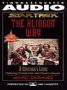 The Klingon Way (MP3): A Warrior's Guide