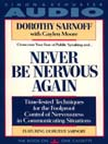 Never Be Nervous Again (MP3)