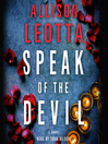 Speak of the Devil (MP3): Anna Curtis Series, Book 3