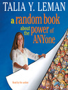 A Random Book About the Power of Anyone (MP3)