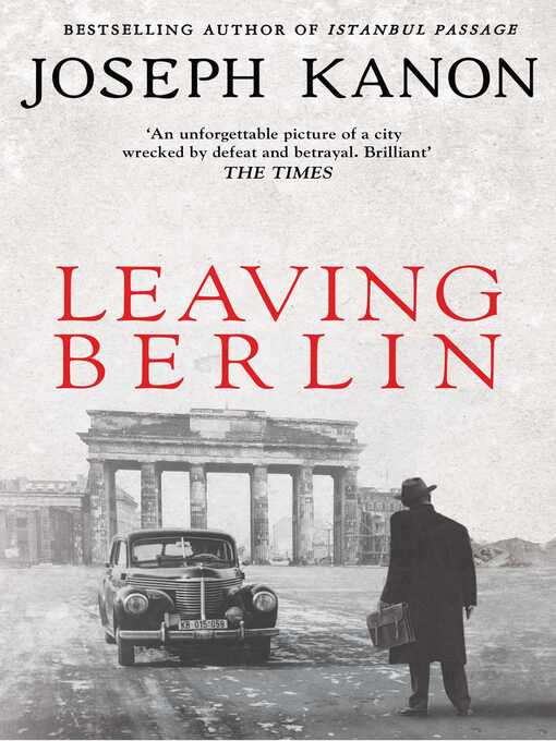 Leaving Berlin (eBook)