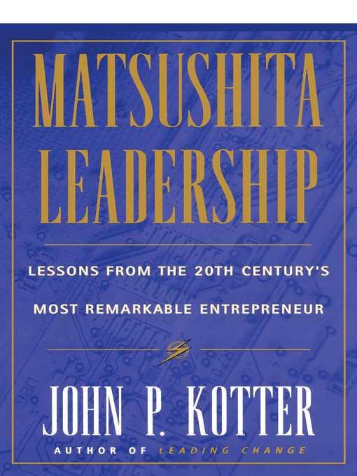 Matsushita Leadership (eBook)