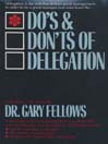 The Do & Don't Delegation (MP3)