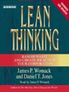 Lean Thinking (MP3): Banish Waste and Create Wealth in Your Corporation, 2nd Ed