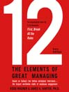 12 (MP3): The Elements of Great Managing