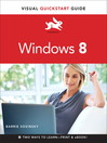 Windows 8 (eBook): Visual QuickStart Guide