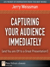 Capturing Your Audience Immediately (and You are Off to a Great Presentation!) (eBook)