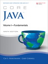 Core Java Volume I—Fundamentals (eBook)