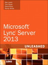 Microsoft Lync Server 2013 Unleashed (eBook)