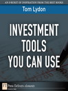 Investment Tools You Can Use (eBook)
