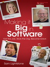 Making it Big in Software (eBook): Get the Job. Work the Org. Become Great.