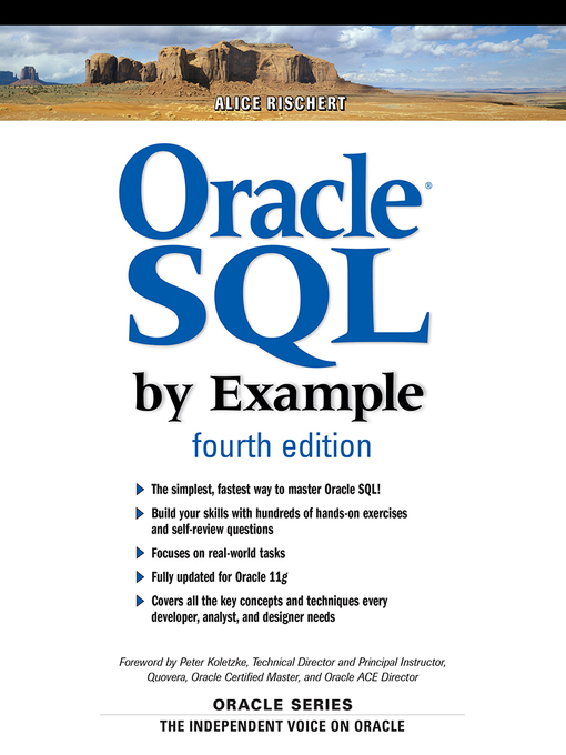 Oracle® SQL by Example (eBook)