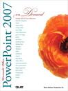 Microsoft Office PowerPoint 2007 On Demand (eBook)