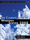 The Complete Guide to Windows Server 2008 (eBook)