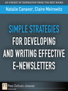 Simple Strategies for Developing and Writing Effective E-Newsletters (eBook)