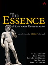 The Essence of Software Engineering (eBook): Applying the SEMAT Kernel