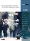 VBA for the 2007 Microsoft Office System (eBook): Planning, Implementing, and Maintaining a Microsoft Windows Server 2003 Active Directory Infrastructure