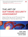 The Art of Software Security Assessment (eBook)