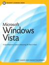 Microsoft Windows Vista (eBook): Visual QuickStart Guide