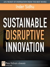 Sustainable Disruptive Innovation (eBook)