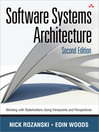 Software Systems Architecture (eBook): Working with Stakeholders Using Viewpoints and Perspectives