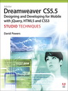 Adobe Dreamweaver CS5.5 Studio Techniques (eBook): Applications