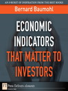 Economic Indicators That Matter to Investors (eBook)