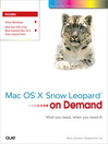 Mac OS X Snow Leopard On Demand (eBook)