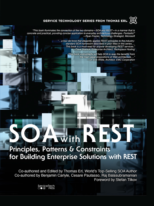 SOA with REST (eBook): Principles, Patterns & Constraints for Building Enterprise Solutions with REST