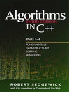 Algorithms in C++, Parts 1-4 (eBook): Fundamentals, Data Structure, Sorting, Searching