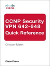 CCNP Security VPN 642-648 Quick Reference (eBook)