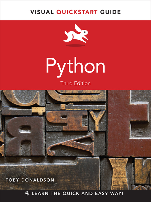 Python (eBook): Visual QuickStart Guide