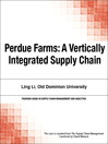 Perdue Farms (eBook): A Vertically Integrated Supply Chain