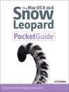 The Mac OS X 10.6 Snow Leopard Pocket Guide (eBook)