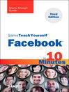 Sams Teach Yourself Facebook in 10 Minutes (eBook)