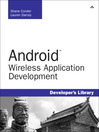 Android Wireless Application Development (eBook)