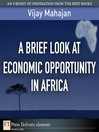 A Brief Look at Economic Opportunity in Africa (eBook)