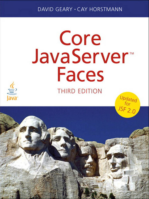 Core JavaServer™ Faces (eBook)